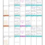 ルリコバレエ:9月のスケジュール